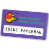 View Extra Image 4 of 14 of Full Colour Name Badge - Coloured