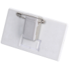 View Extra Image 1 of 1 of Full Colour Combi Clip Name Badge - White