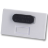 View Extra Image 1 of 1 of Full Colour Magnetic Name Badge - White
