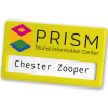 View Extra Image 1 of 14 of Full Colour Magnetic Name Badge - Coloured