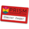 View Extra Image 2 of 14 of Full Colour Magnetic Name Badge - Coloured