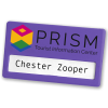 View Extra Image 3 of 14 of Full Colour Magnetic Name Badge - Coloured