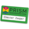 View Extra Image 5 of 14 of Full Colour Magnetic Name Badge - Coloured