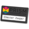 View Extra Image 6 of 14 of Full Colour Magnetic Name Badge - Coloured
