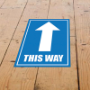 View Extra Image 1 of 1 of Laminated Anti-Slip Vinyl A2 Floor Stickers
