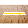 View Extra Image 1 of 3 of Laminated Anti-Slip Vinyl Rectangle Floor Stickers - 500 x 75mm