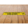 View Extra Image 2 of 3 of Laminated Anti-Slip Vinyl Rectangle Floor Stickers - 500 x 75mm
