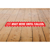 View Extra Image 3 of 3 of Laminated Anti-Slip Vinyl Rectangle Floor Stickers - 500 x 75mm