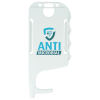 View Extra Image 2 of 7 of Antimicrobial No Touch ID Card Holder - White