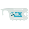View Extra Image 5 of 7 of Antimicrobial No Touch ID Card Holder - White