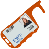 View Extra Image 1 of 1 of Antimicrobial No Touch ID Card Holder - Coloured