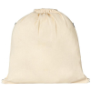 View Image 3 of 3 of Oregon Zip Cotton Drawstring Bag