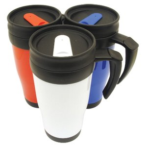 Colour Tab Promotional Travel Mug Image 1 of 2