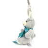 View Extra Image 1 of 4 of Rabbit Keyring with Bow