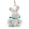 View Extra Image 2 of 4 of Rabbit Keyring with Bow