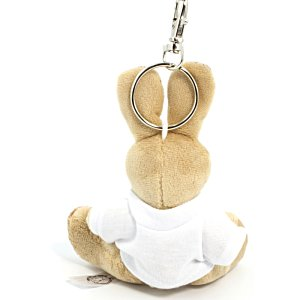 Rabbit Keyring with T-Shirt Image 1 of 2