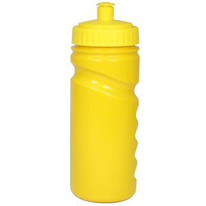 500ml Finger Grip Sports Bottle - Push Pull Cap Image 2 of 18