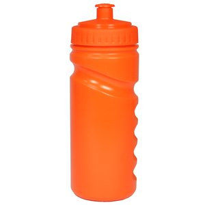 500ml Finger Grip Sports Bottle - Push Pull Cap Image 3 of 17