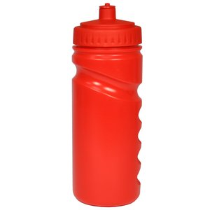 500ml Finger Grip Sports Bottle - Push Pull Cap Image 4 of 18