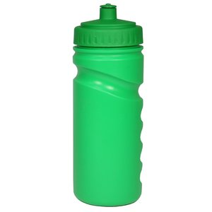 500ml Finger Grip Sports Bottle - Push Pull Cap Image 5 of 17