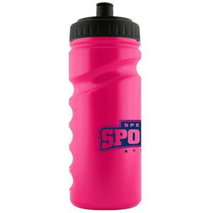 500ml Finger Grip Sports Bottle - Push Pull Cap Image 11 of 18