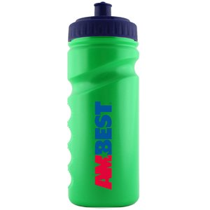 500ml Finger Grip Sports Bottle - Push Pull Cap Image 14 of 18