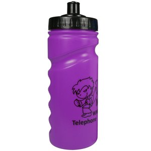 500ml Finger Grip Sports Bottle - Push Pull Cap Image 16 of 17