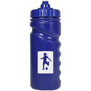 500ml Finger Grip Sports Bottle - Valve Cap Image 3 of 14