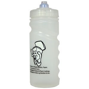 500ml Finger Grip Sports Bottle - Valve Cap Image 4 of 14