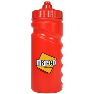 500ml Finger Grip Sports Bottle - Valve Cap Image 6 of 14