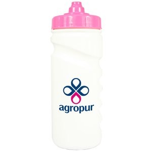 500ml Finger Grip Sports Bottle - Valve Cap Image 8 of 14