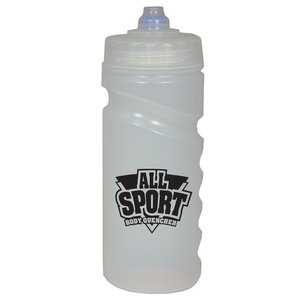 500ml Finger Grip Sports Bottle - Valve Cap Image 10 of 14