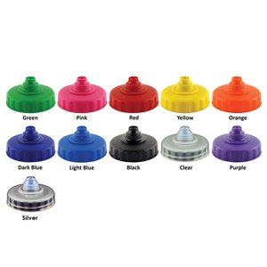 500ml Finger Grip Sports Bottle - Valve Cap Image 11 of 14