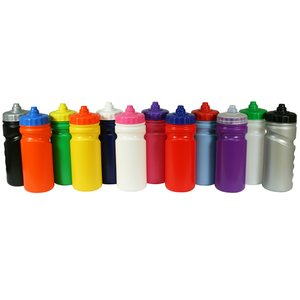 500ml Finger Grip Sports Bottle - Valve Cap Image 12 of 14