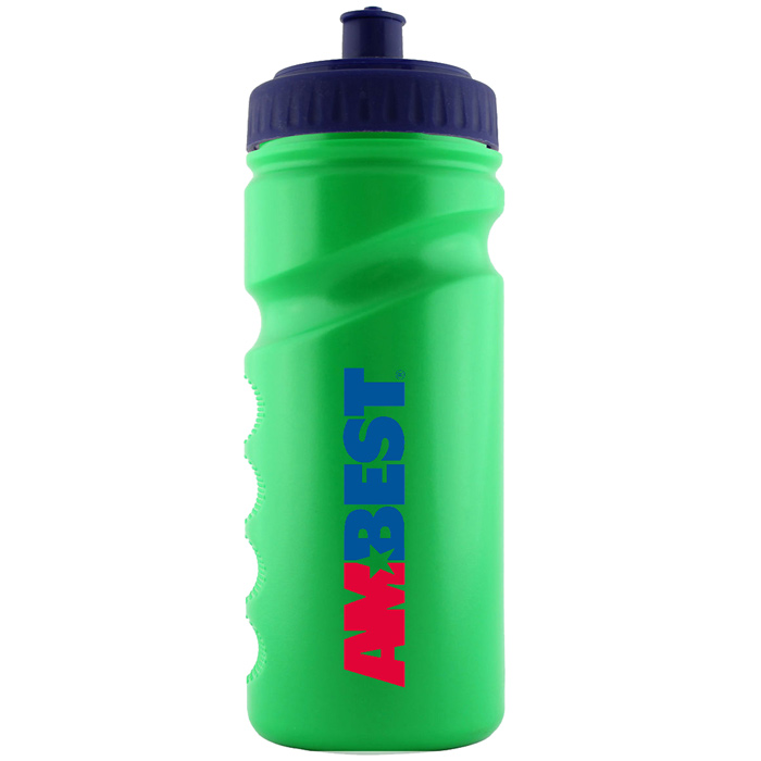 4imprint.co.uk: 500ml Finger Grip Sports Bottle - Push ...