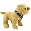 View Extra Image 1 of 6 of 25cm Labrador Soft Toy with Bow