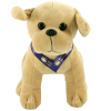 View Extra Image 2 of 6 of 25cm Labrador Soft Toy with Bow