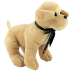 View Extra Image 3 of 6 of 25cm Labrador Soft Toy with Bow