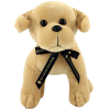 View Extra Image 5 of 6 of 25cm Labrador Soft Toy with Bow