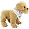 View Extra Image 2 of 3 of 25cm Labrador Soft Toy with Bandana