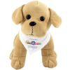 View Extra Image 3 of 3 of 25cm Labrador Soft Toy with Bandana