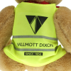 View Extra Image 1 of 1 of 25cm Jointed Honey Bear with Hi Vis Jacket