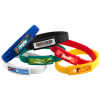 View Extra Image 1 of 1 of Domed Silicone Wristband
