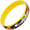 View Extra Image 1 of 1 of Silicone Wristband - Full Colour
