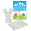 View Extra Image 1 of 3 of Foam Rabbit Colouring in Kit