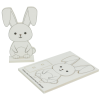 View Extra Image 2 of 3 of Foam Rabbit Colouring in Kit