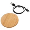 View Extra Image 2 of 6 of Bamboo Wireless Charging Pad - Engraved