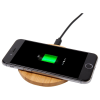 View Extra Image 5 of 6 of Bamboo Wireless Charging Pad - Engraved