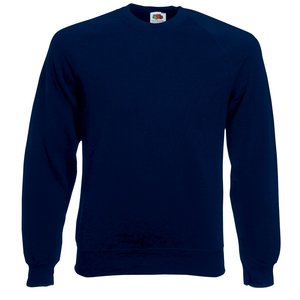 Fruit of the Loom Raglan Sweatshirt - Printed
