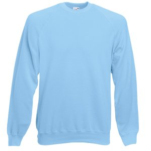 Fruit of the Loom Raglan Sweatshirt - Embroidered